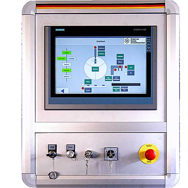 Steuerung Kondensatorentladungsschweißanlage